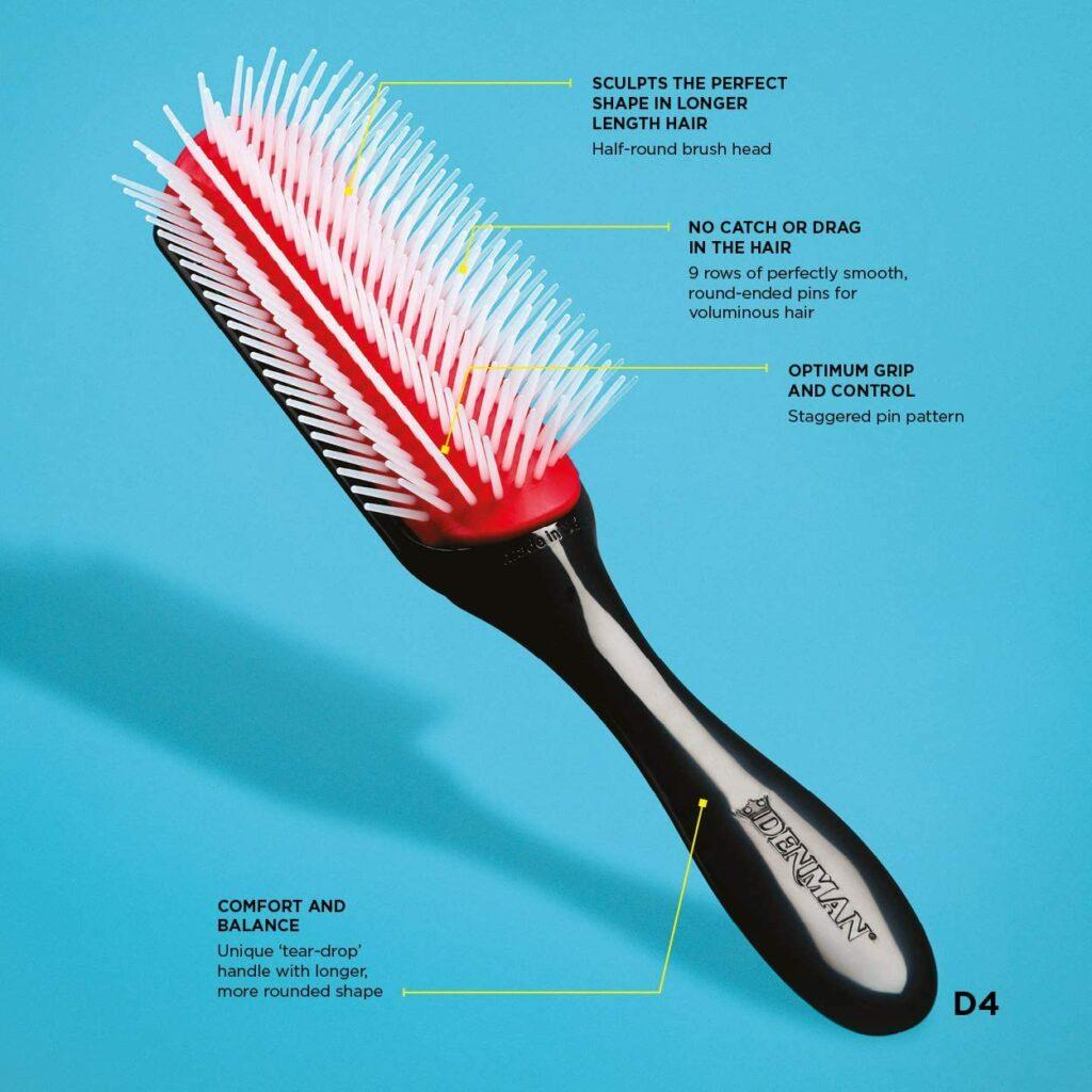 Denman Brush D4