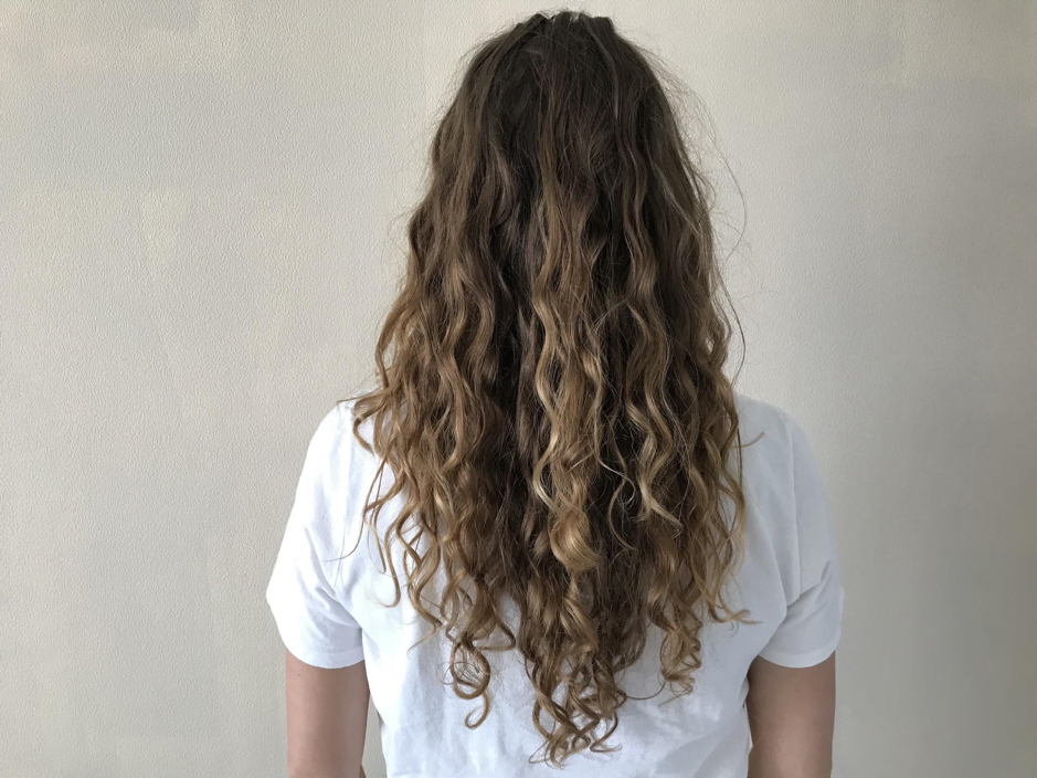 agnes probeert de curly girl methode