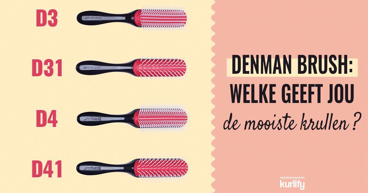 denman brush D3, D31, D4, D41