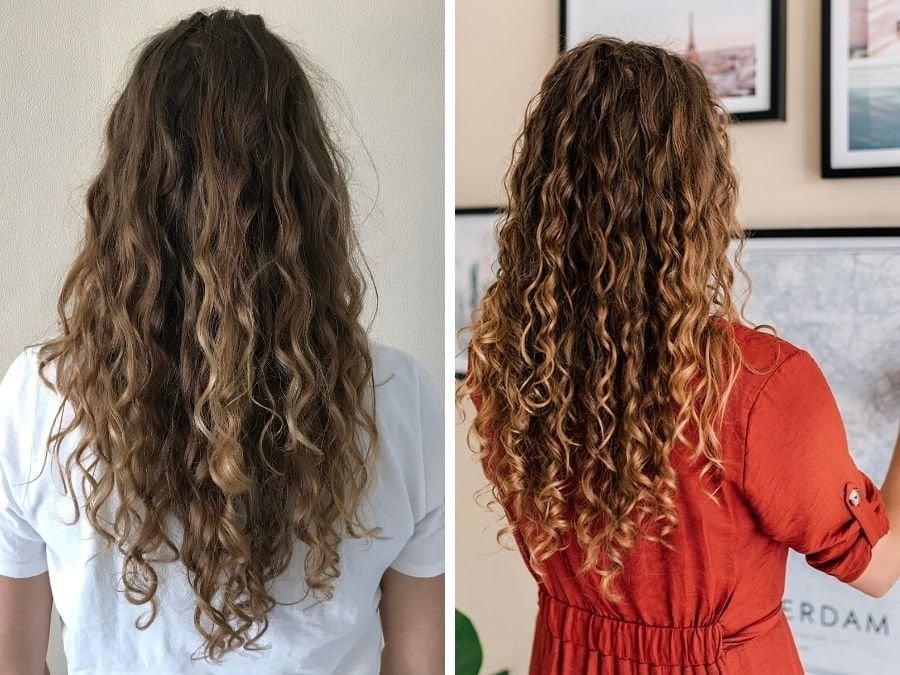 Agnès probeert de Curly Girl Methode: een update na 2,5 maand