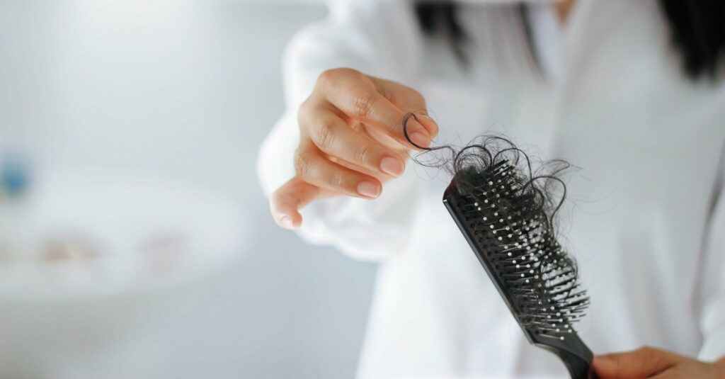Hair loss during the Curly Girl Method