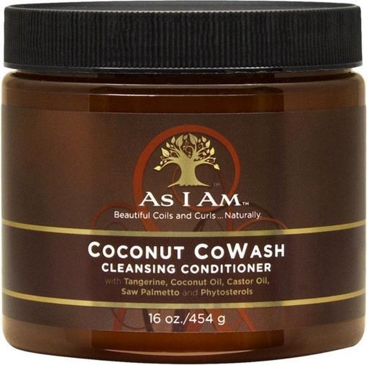 As I Am Naturally Coconut Co-Wash Cremespoeling - 454 gr