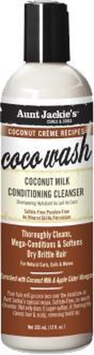 Aunt Jackie's Coco Wash Coconut Milk Conditioning Cleanser 355ml