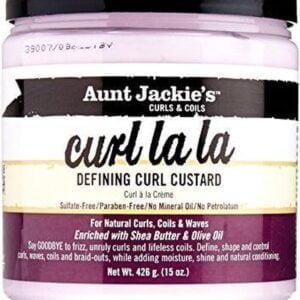 Aunt Jackie's Curl La La Custard 15oz - 426 gr -