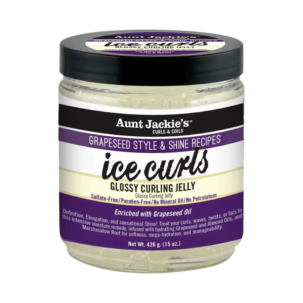 Aunt Jackie's Grapeseed Ice Curls Glossy Curling Jelly