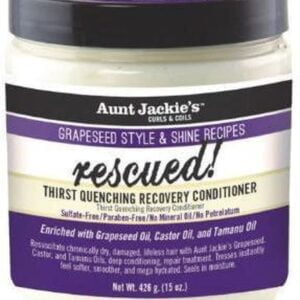 Aunt Jackie's Grapeseed Rescued! Thirst Quenching Recovery Conditioner