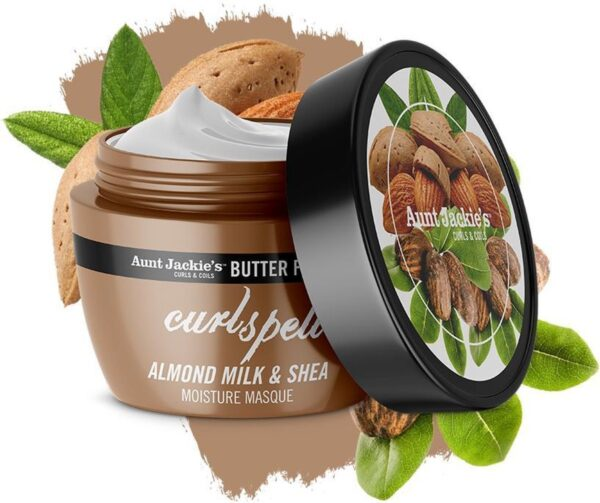 Aunt jackie's butter fusions CURL SPELLALMOND MILK AND SHEA MOISTURE MASQUE 227G