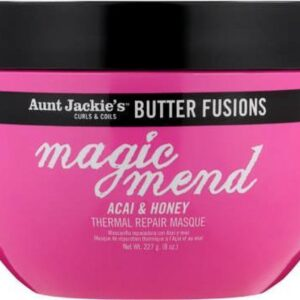 Aunt jackie's butter fusions magic mend ACAI & HONEY thermal repair mask 227g
