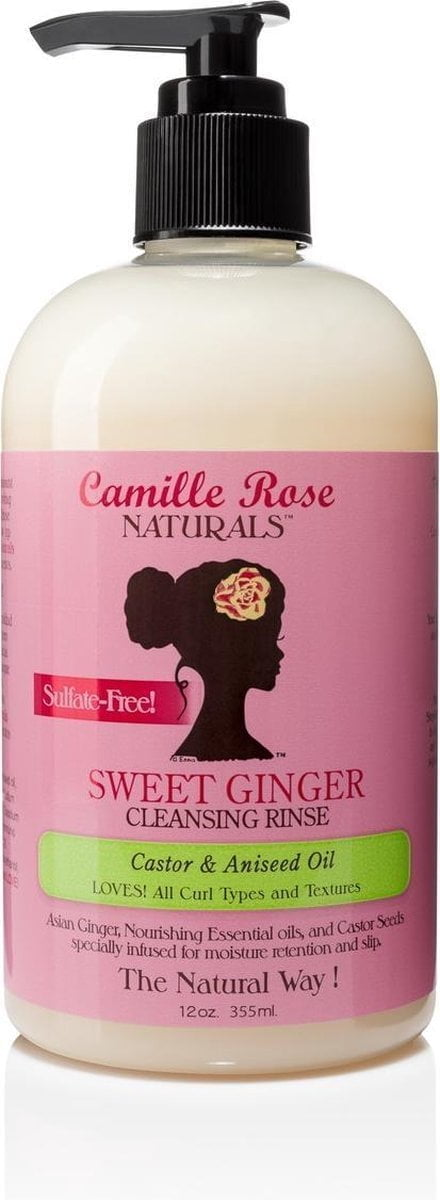 Camille Rose Naturals Sweet Ginger Cleansing Rinse 355 ml