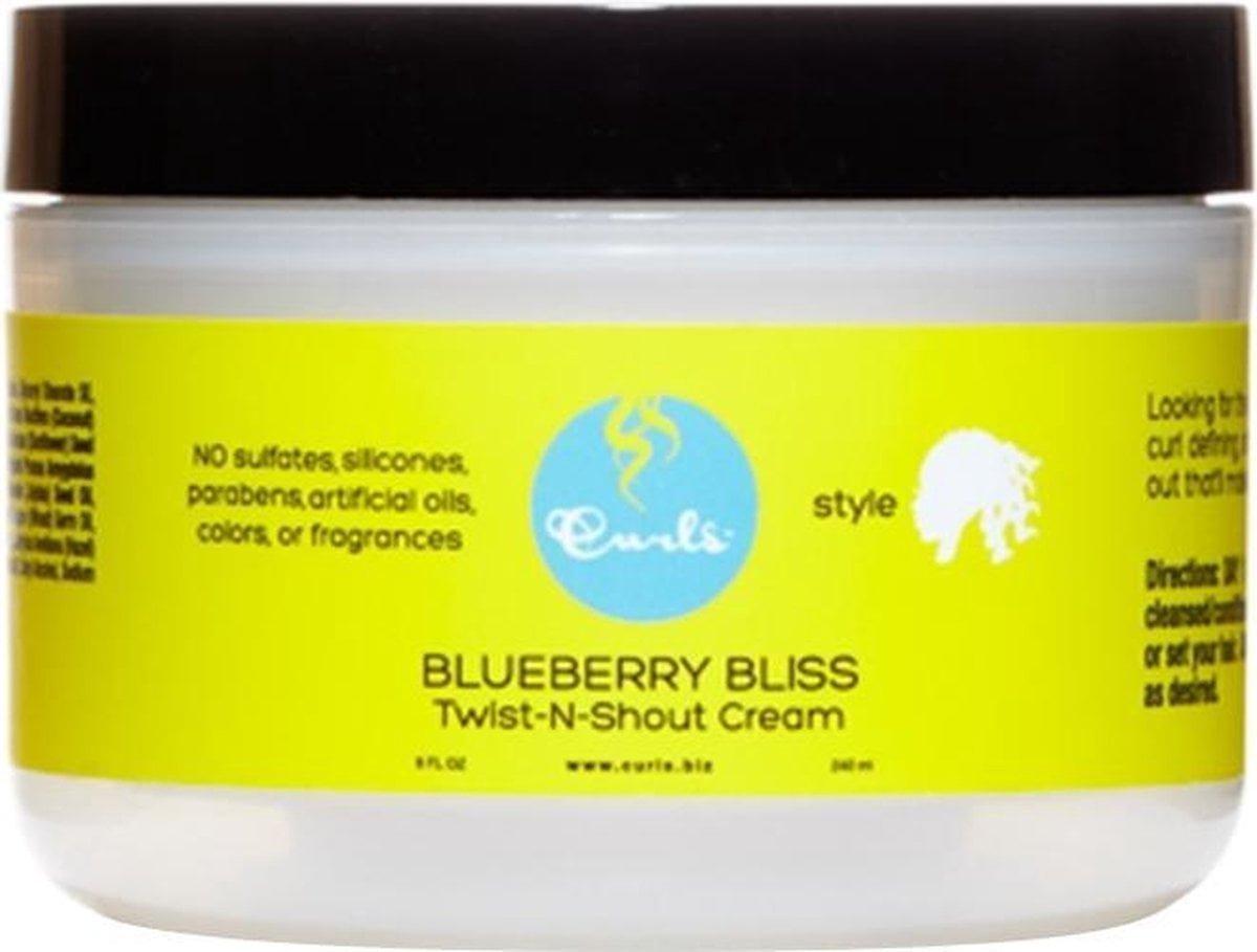 Curls Blueberry Bliss Twist-N-Shout Cream 240 ml
