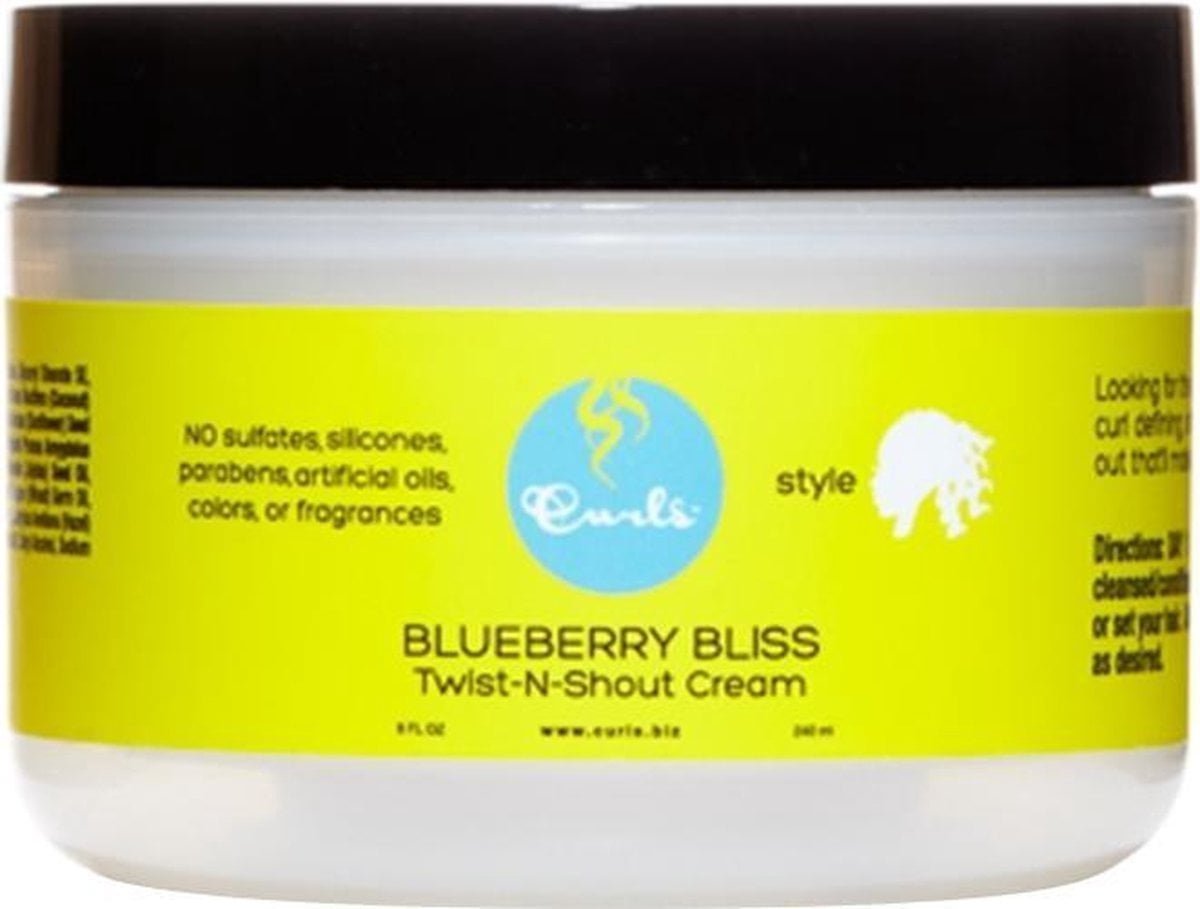 Curls Blueberry Bliss Twist-N-Shout Cream 240 ml