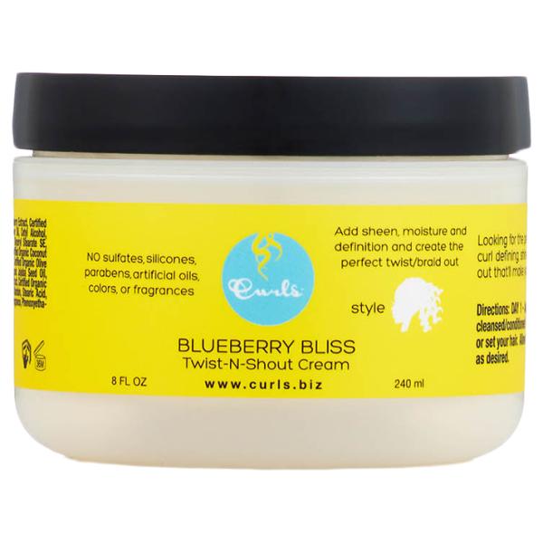 Curls Blueberry Bliss Twist n Shout Curl Cream