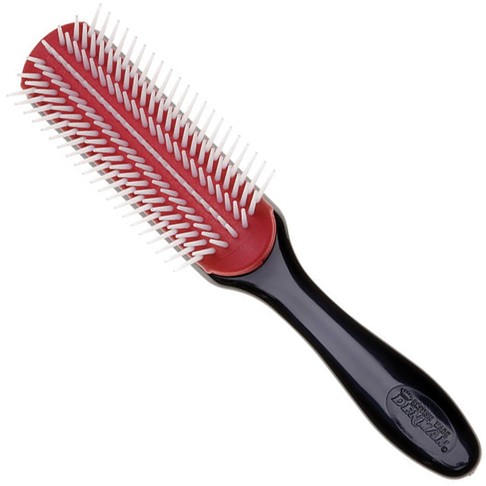 Denman - Medium 7 Row Styling Brush - Rood - D3