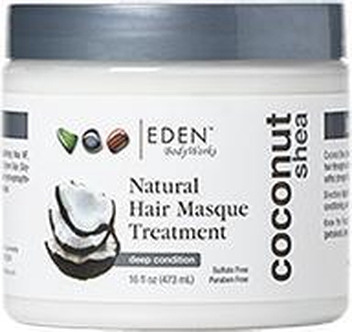 EDEN BodyWorks Coconut Shea Hair Masque 473 ml