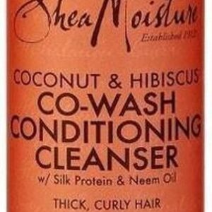 Shea Moisture Coconut & Hibiscus Co-Wash Conditoning Cleanser 237 ml