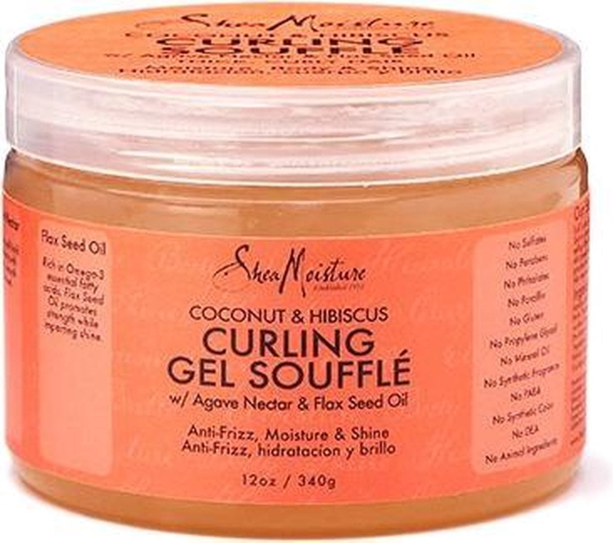 Shea Moisture Coconut & Hibiscus Curling Gel Souffle 355 ml