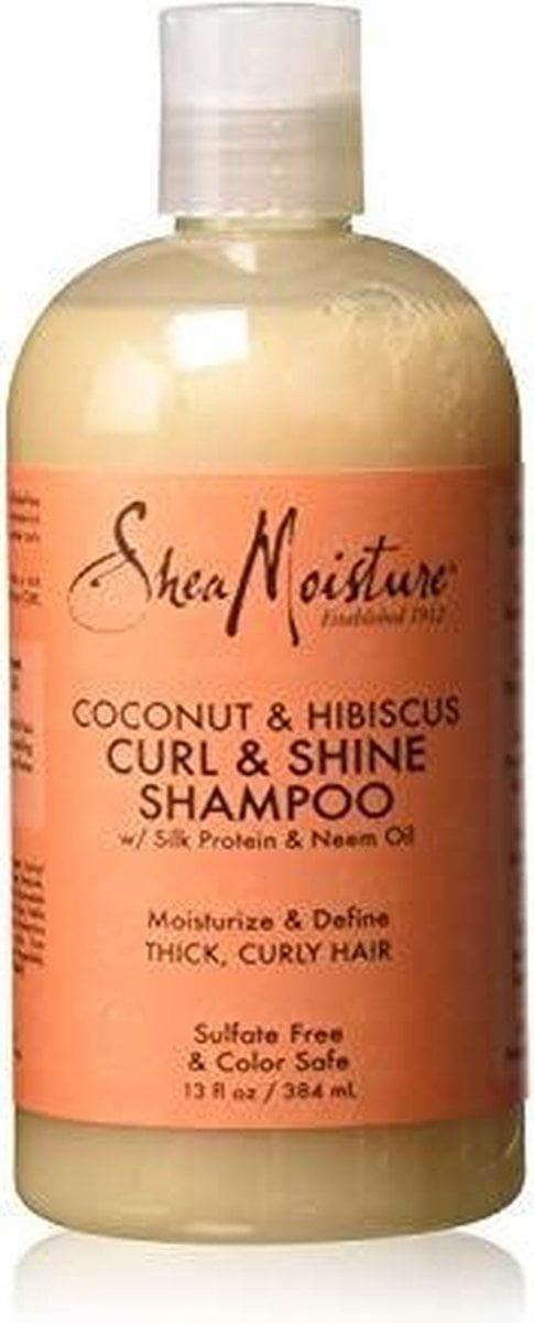 Shea Moisture Coconut and Hibiscus Curl/Shine Shampoo 384 ml