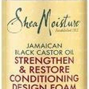 Shea Moisture- Jamaican Black Castor Oil - Strengthen & Restore - Conditioning Design Foam - 222ml