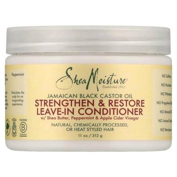 Shea Moisture Jamaican Black Castor Oil Strengthen & Restore Leave-in Conditioner 312 gr