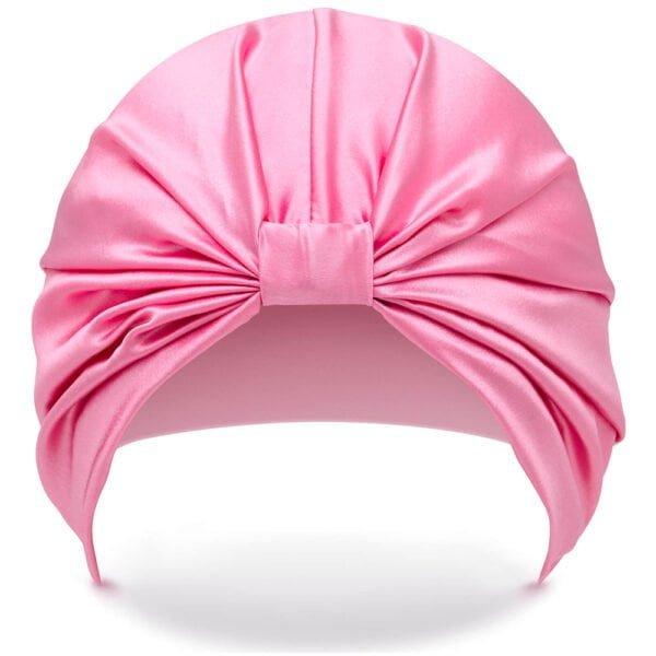 Silke Hairwrap - Front - Pink