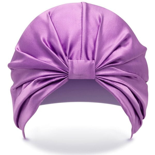 Silke Hairwrap - Front - Purple