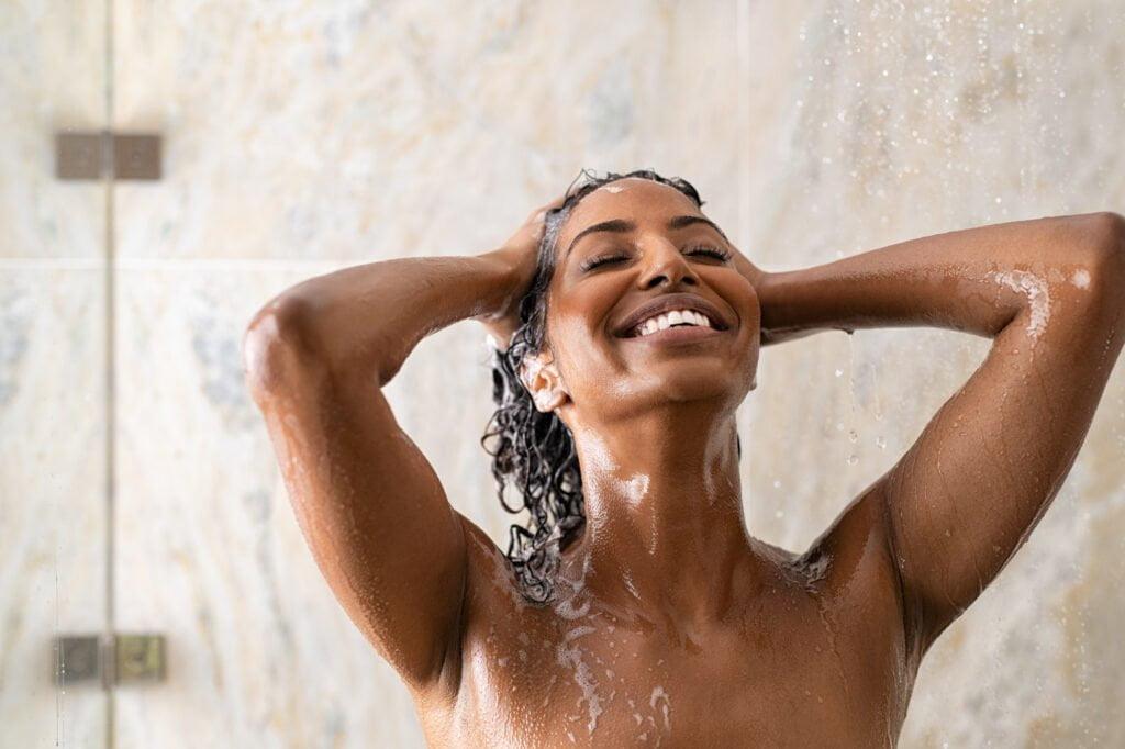 Shower, build up