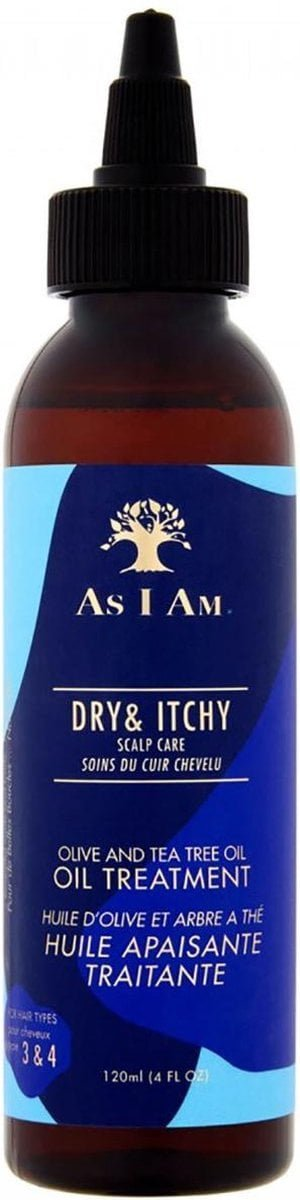 As I Am - Dry & Itchy Oil Treatment - 120 ml