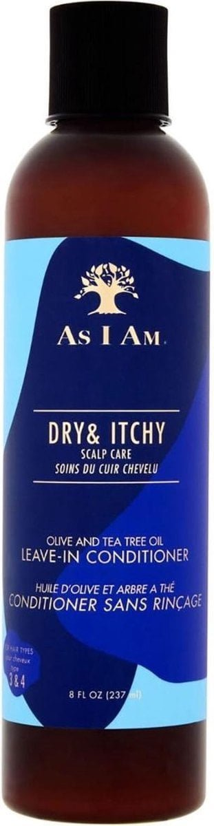 As I Am - Dry & Itchy Scalp Care Leave In Conditioner - 237 ml