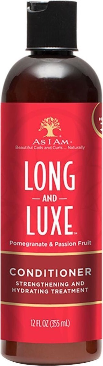 As I Am - Long & Lux Conditioner - 355 ml