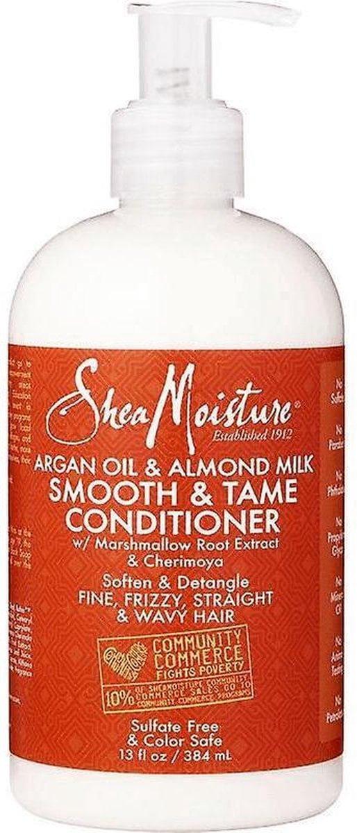 Shea Moisture Argan Oil & Almond Milk Smooth & Tame Conditioner 13 oz