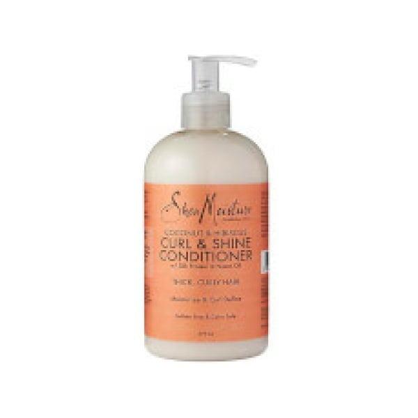 Shea Moisture Coconut & Hibiscus Curl & Shine Conditioner 379ml