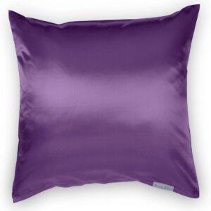 Beauty Pillow® Aubergine - Kussensloop - 80x80 (Duitse maat)
