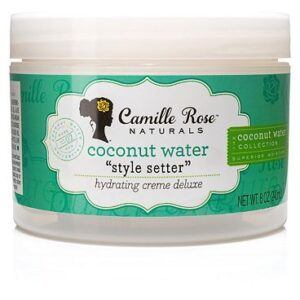 Camille Rose Naturals Coconut Water Style Setter Hydrating Crme Deluxe 240ml