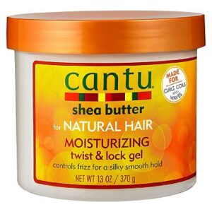 Cantu Shea Butter for Natural Hair Moisturizing Twist & Lock Gel 370g