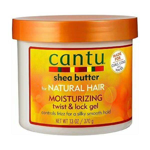 Cantu Shea Butter for Natural Hair Moisturizing Twist & Lock Gel 370g