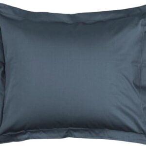 Essenza Kussensloop Satijn - Steenblauw 60x70