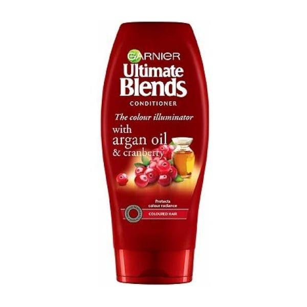 Garnier Ultimate Blends Argan Oil & Cranberry Conditioner for Coloured Hair 360ml
