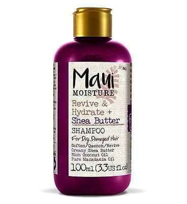 Maui Moisture Revive & Hydrate + Shea Butter Shampoo 100ml