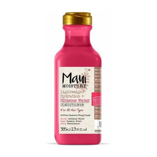 Maui Moisture Weightless Hydration + Hibiscus Water Conditioner 385ml