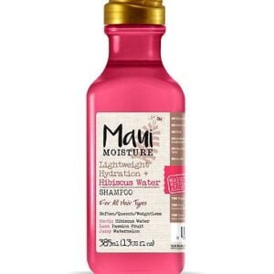 Maui Moisture Weightless Hydration + Hibiscus Water Shampoo 385ml