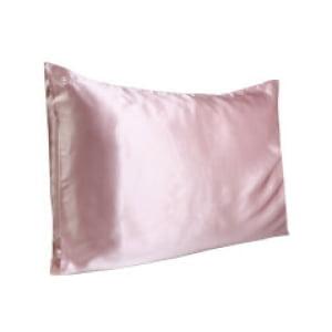 Slip Silk Pillowcase - Queen (Various Colours) - Pink
