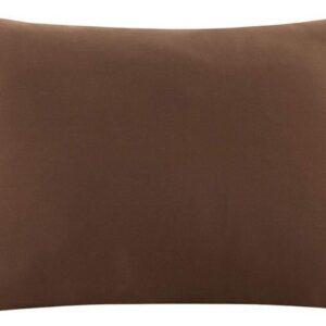 Zijden kussensloop - bruin - 66 cm x 51 cm - 100% Zijden - Moerbei - YOSMO