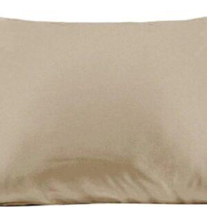 Zijden kussensloop - champagne bruin - 66 cm x 51 cm - 100% Zijden - Moerbei - YOSMO
