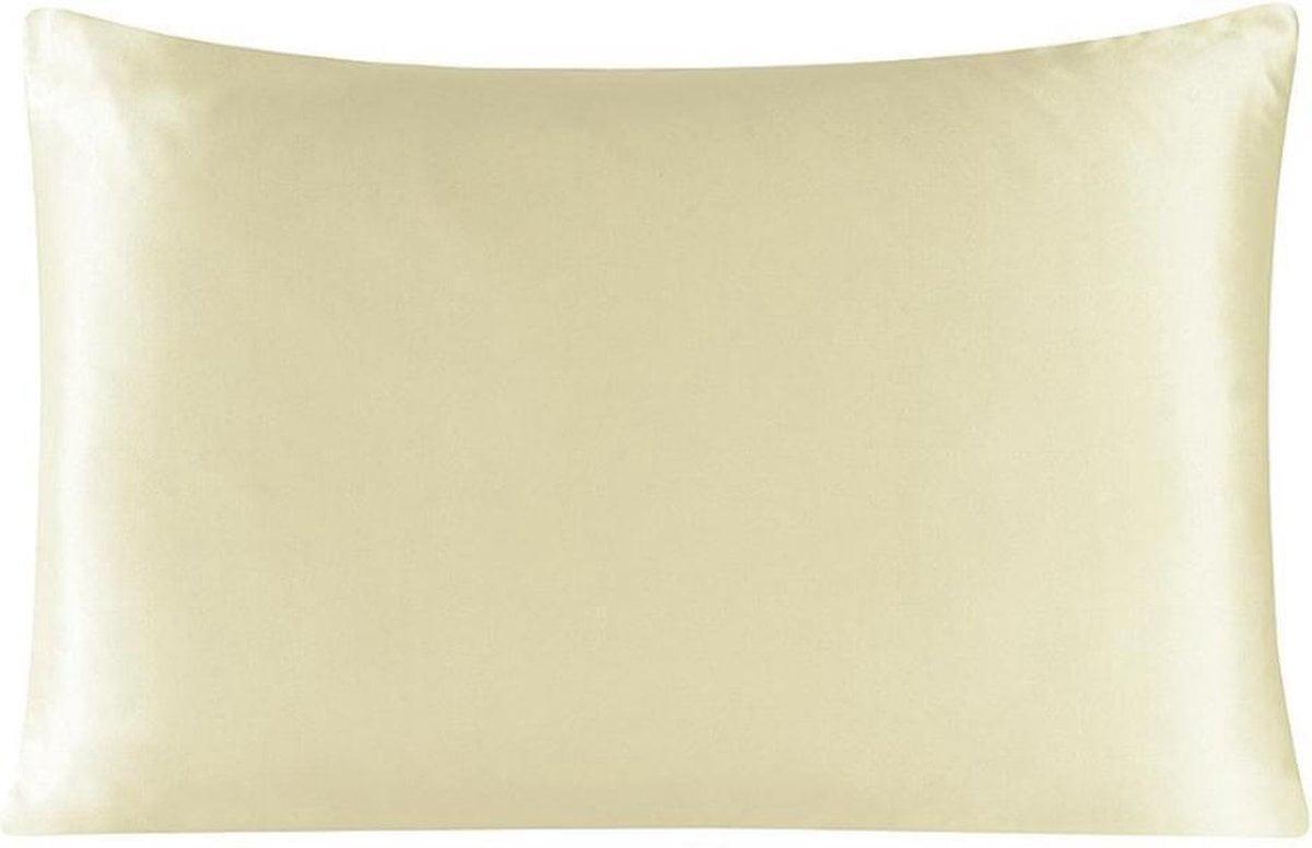 Zijden kussensloop - ivory - 66 cm x 51 cm - 100% Zijden - Moerbei - YOSMO