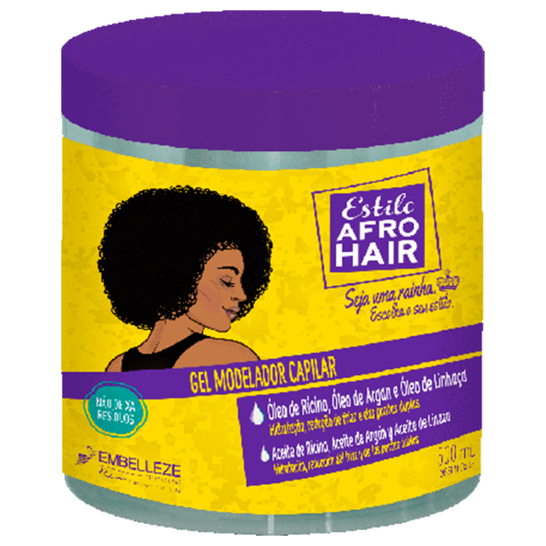 Afro hair Styling Gel