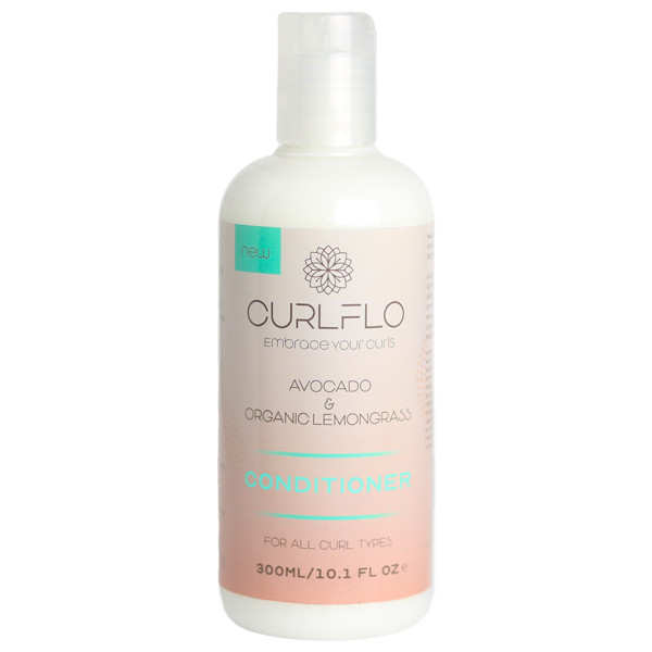 Curl Flo Organic Lemongrass & Avocado Conditioner