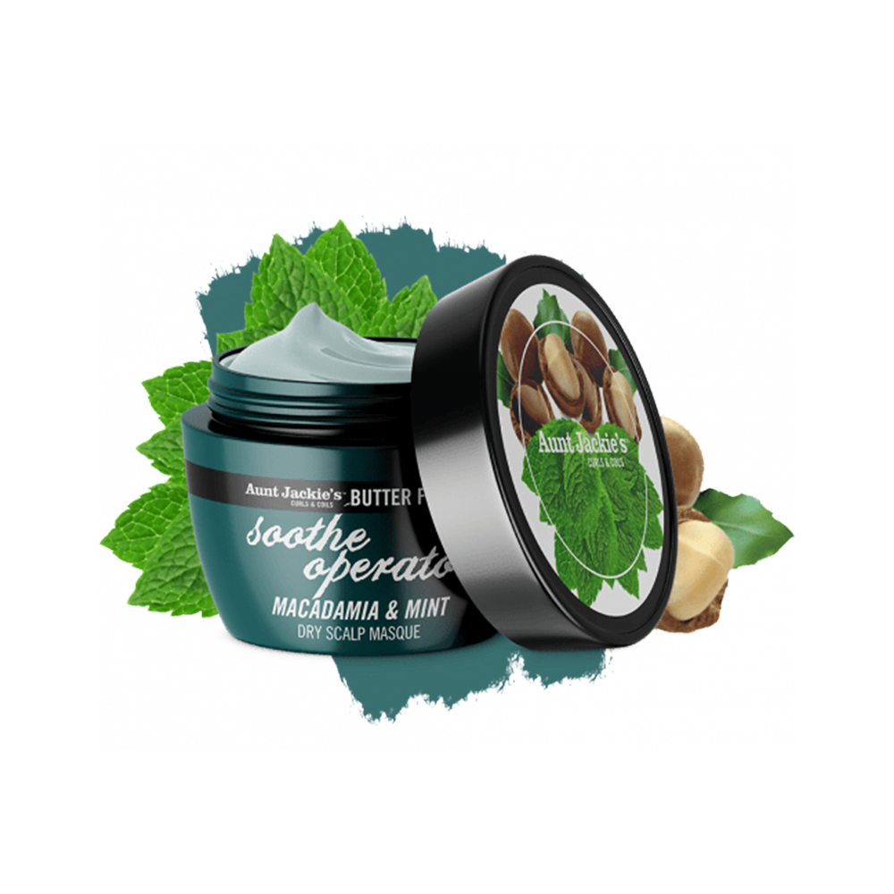 Aunt Jackie's Butter Fusions Soothe Operator Dry Scalp Masque