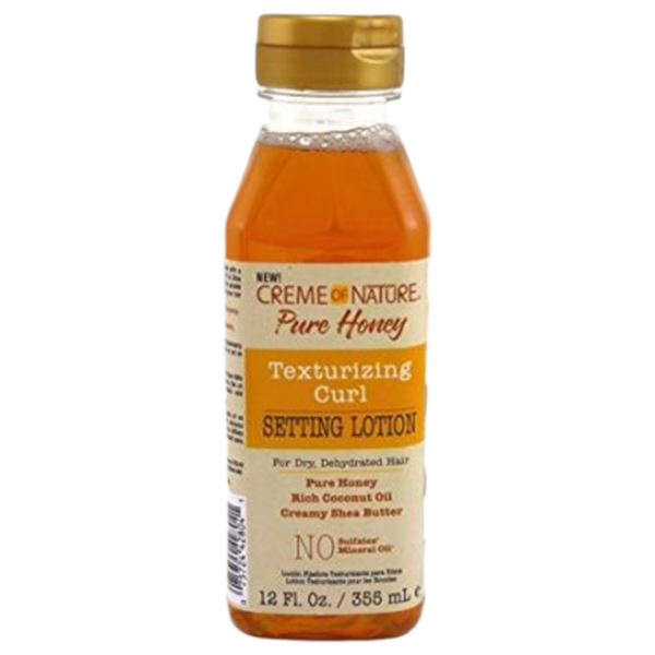 Creme of Nature Pure Honey Texture Curl Setting Lotion