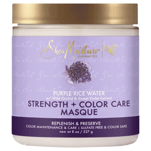 Shea Moisture Purple Rice Water Strength & Color Care Masque