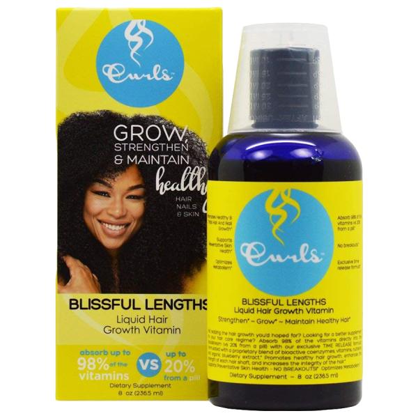 Curls Blueberry Liquid Hair Growth Vitamin